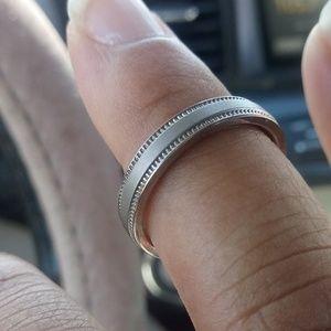 Size 9 Titanium wedding band